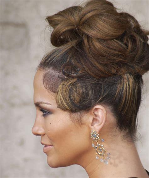 updo hairstyles jlo jennifer lopez hairstyles updos