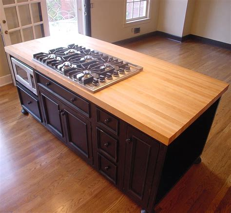 attractive kitchen island butcher block