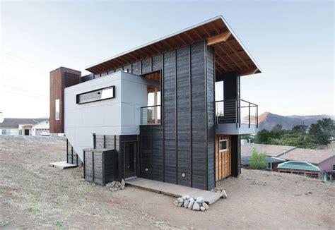 Hillside Floor Plans Planos De Caba 241 A Moderna De Dos Pisos Construye Hogar