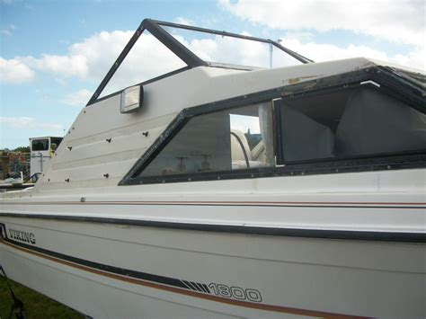 viking cabin cruiser power boat v6 engine 1800cr boat for