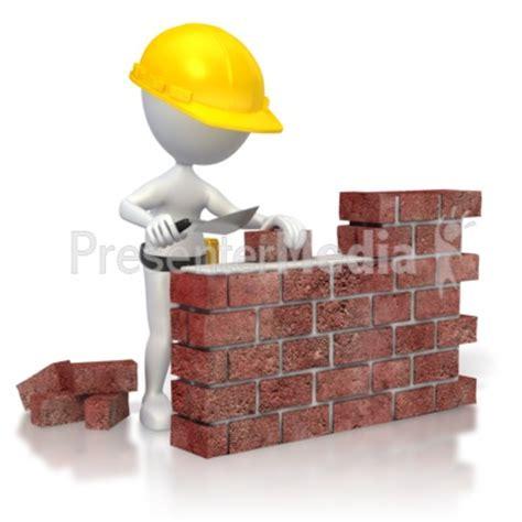 Building A Wall build brick house clip art cliparts