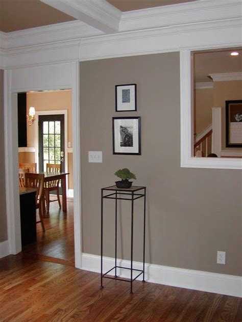 brandon beige benjamin wall color the white trim living room entry