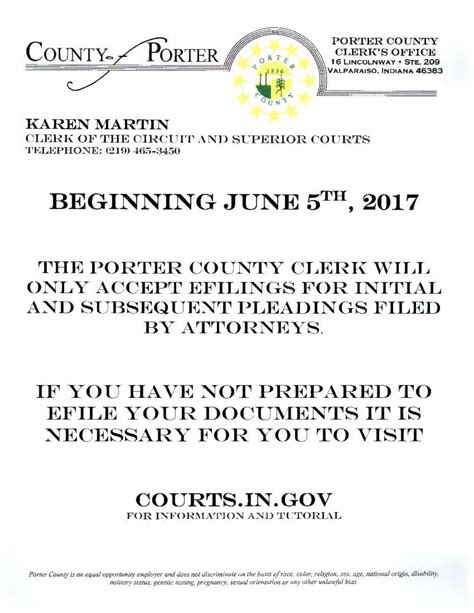 Martin County Clerk Of Court Official Records Porter County In Official Website Clerk