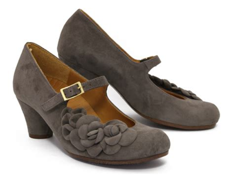 Chie Miharas Bonne Chance by Chie Mihara Nerine In Grey Suede Ped Shoes Order