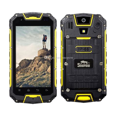 rugged android smartphone best snopow m8 lte unlocked 4g rugged smartphone android ip68 waterproof dustproof shockproof