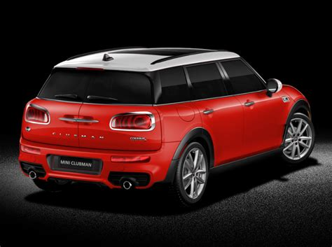 Mini For by Mini Announces Us Pricing For 2016 Clubman The News Wheel