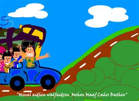 wallpaper hari raya animasi animasi gerak lucu ucapan idul fitri 2018 187 foto gambar