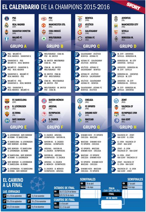 Calendario De La Chion League Calendario De Chions League 2016 Search Engine
