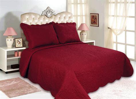 red quilted coverlet bedroom red quilted bedspreads bedding with brown carpet