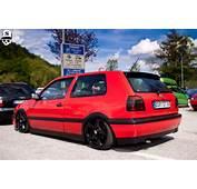 Vw Golf Mk3 Red Black  Rides &amp Styling