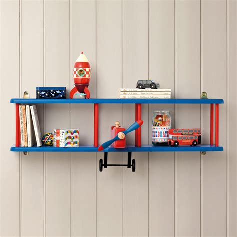 kids room shelves bi plane wall shelf bookcases bookshelves children s