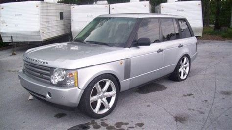 land rover bank find used 2003 range rover hse bank repo absolute
