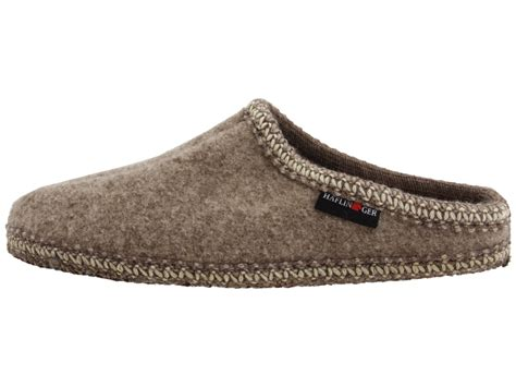 haflinger slippers sale womens haflinger as classic slipper in beige lyst