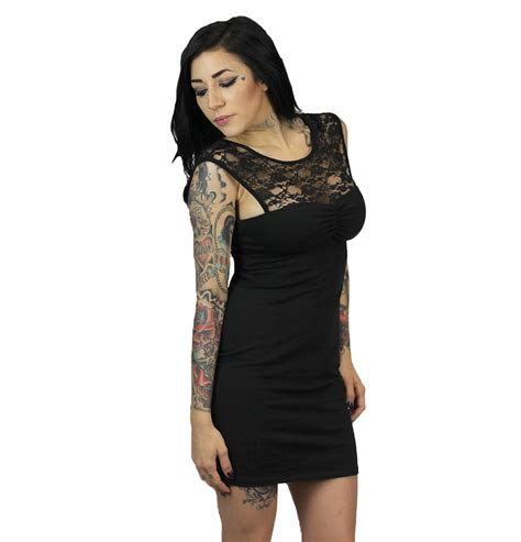 Black Flower Lace Top Size S M L 1 lace womens dress clothing sullen clothing