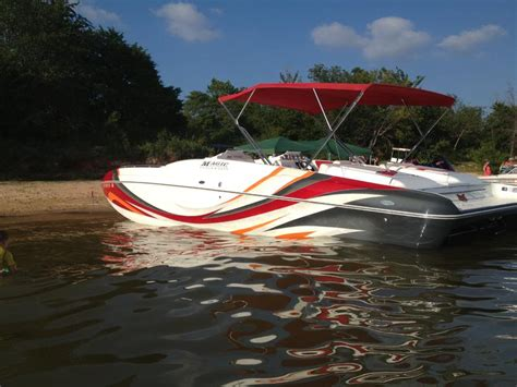 deck boats for sale oklahoma 2008 magic deckboat powerboat for sale in oklahoma