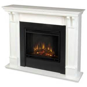 real 48 in electric fireplace in white 7100e