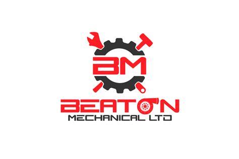design engineer logo logo design for beaton mechanical ltd by am interactive