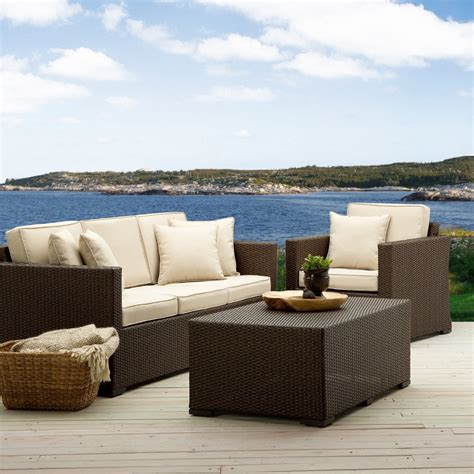 outdoor patio sofas modern patio furniture with chic treatment for fancy house