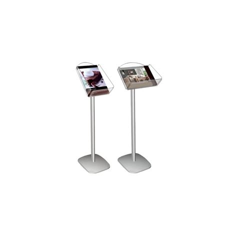 point of purchase display stand system menu holders