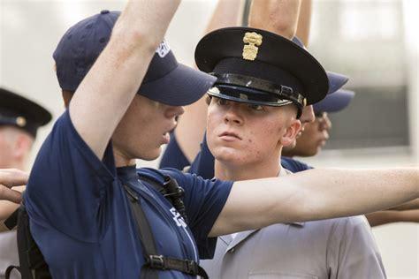 new cadet class enters the citadel zimbio