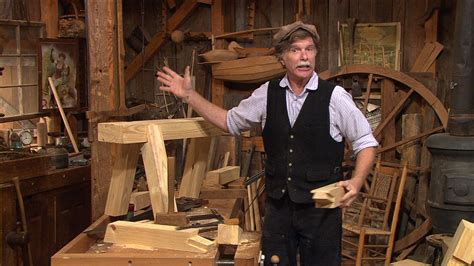 pbs woodworking programs s34 e1 taming the timber bench the woodwright s shop