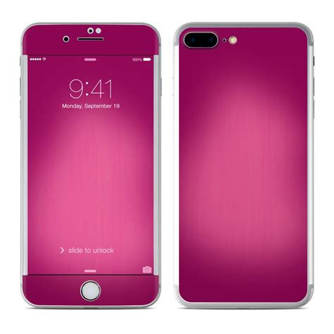 apple iphone   skin pink burst decalgirl