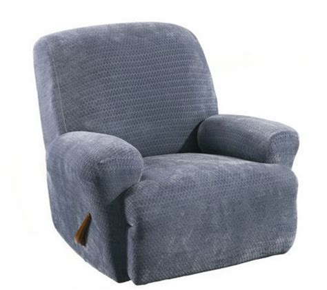 Qvc Recliner Covers Sure Fit Stretch Royal Recliner Slipcover Page 1 Qvc