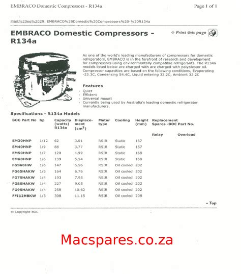 embraco compressor wiring diagram wiring diagrams refrigeration macspares wholesale