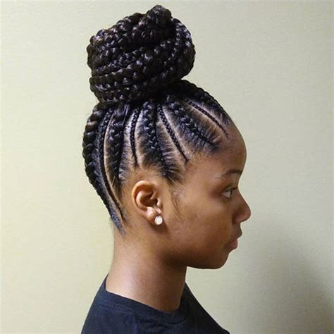large cornrow ponytail try these 20 iverson braids hairstyles with images