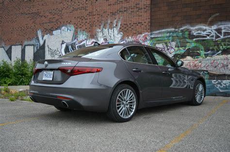 car review 2017 alfa romeo giulia ti q4 and wheels