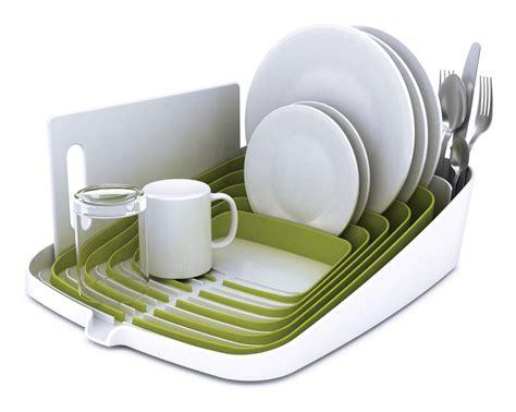 in dish rack arena draining rack dish drainer green white by joseph