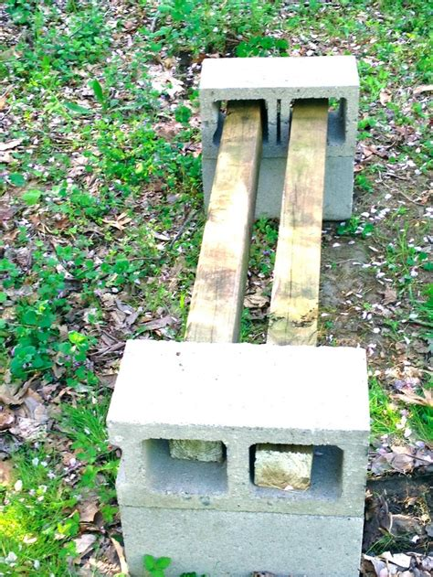 pinterest benches cinder block bench google search outside benches