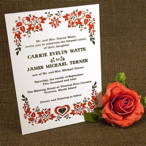 Screen Printing Wedding Invitations by The Printing Process Screen Printing