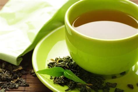healthy green tea cup  tea leaves gudang ngelmu