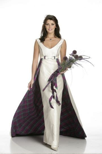 17 Best ideas about Scottish Wedding Dresses on Pinterest