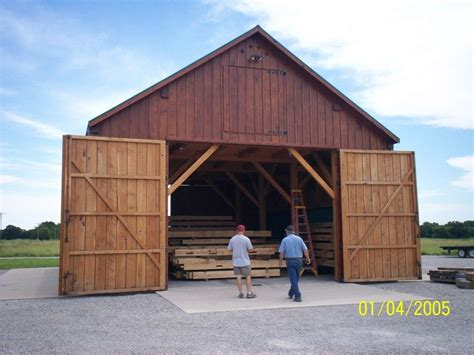 midwest custom timber frames barn construction