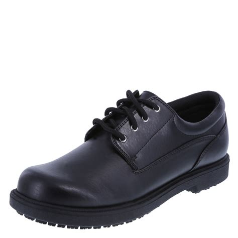 oxford shoes safetstep slip resistant s oxford shoe payless