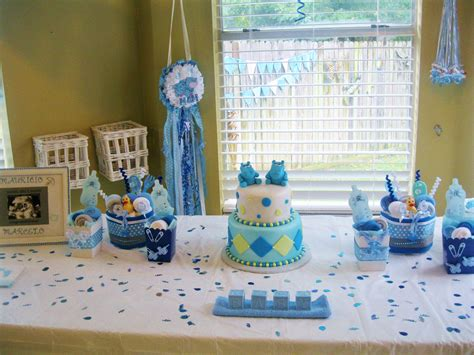 Baby Shower Decorations Boys by Polkadots Monkeys Cakes Planner