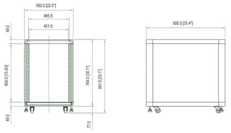 19 Rack Specification by Startech 15u 19 Inch Black Server Rack Cabinet 2636cabinet