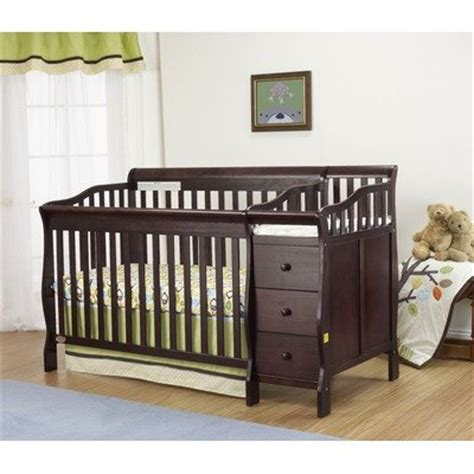 3 in 1 crib with attached changing table crib with changing table attached