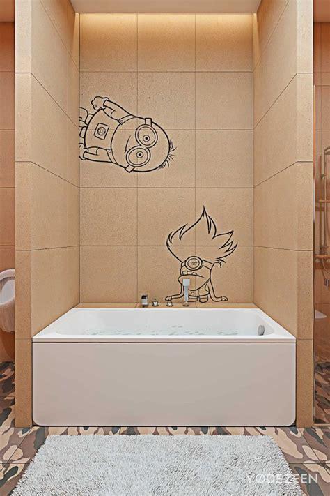 minion bathroom minions bathroom interior design ideas