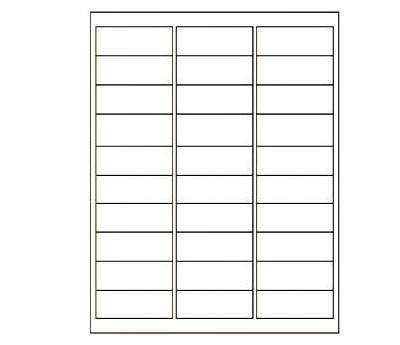 printable labels 1 x 3 inkjet laser printer labels round square 6 colors