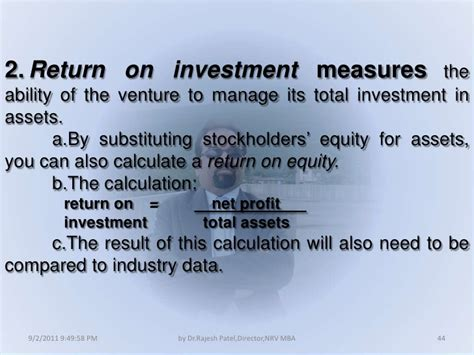 Https Aringo Mba Return On Investment Roi Calculator by Informal Risk Capital