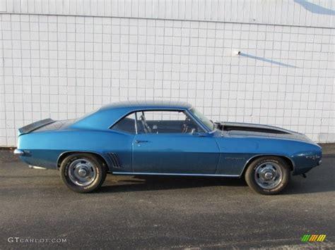1969 camaro z28 blue 1969 lemans blue chevrolet camaro z28 coupe 87342237