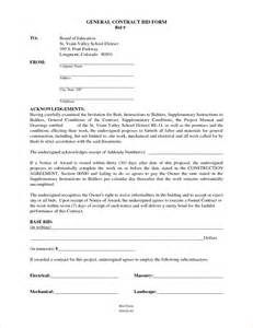 contracting contract template 6 general contractor contract templatereport template
