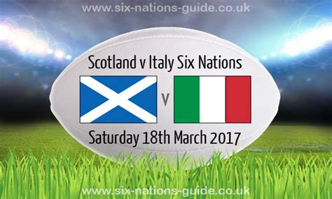 Out And About Nation 6 by Scotland 29 0 Italy Six Nations 18 Mar 2017