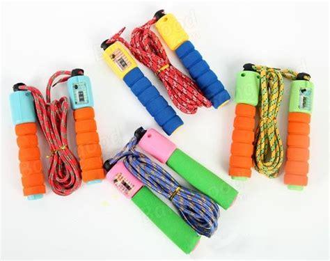 Jump Rope Skipping Counting Rope Sponge Foam Tali Skipping sports fitness high density foam sponge automatic counting rope skipping us 5 29 sold out
