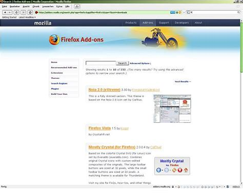 mozilla themes kostenlos ifox smaragd firefox theme download chip
