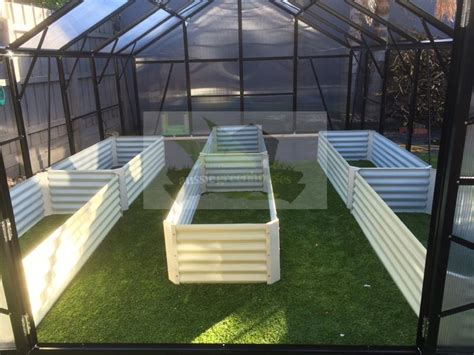 Greenhouse Planter Boxes by Greenhouse Instant Veggie Herb Raised Planter Box