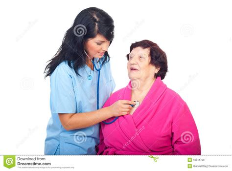Background Check On Doctors Doctor Check Up Elderly Royalty Free Stock Images Image 16511799